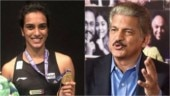Anand Mahindra shares PV Sindhu's extensive workout video. Says I'm exhausted just watching this