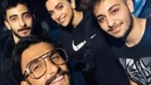 Deepika Padukone and Ranveer Singh click photo with fans in London. See pic