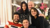 Riteish and Genelia Deshmukh meet Rishi and Neetu Kapoor in NYC, call it a fantastic evening