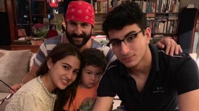 Sara Ali Khan wishes Saif Ali Khan on birthday with a cute ... Saif Ali Khan Wife And Kids