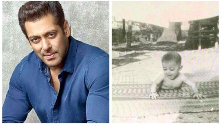 Salman Khan shares childhood photo with his fans on