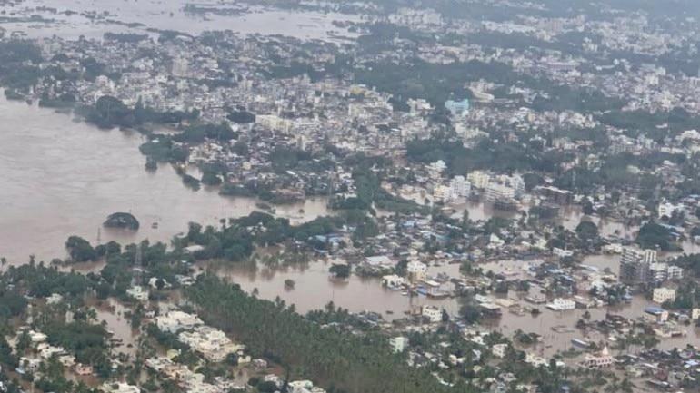 Floods hit power, water supply in Sangli, Kolhapur in