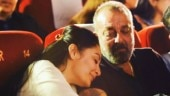 Maanayata and Sanjay Dutt set couple goals in this loved-up picture