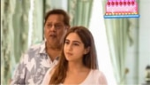 Sara Ali Khan wishes David Dhawan happy birthday with pic from Coolie No 1 sets. See photo