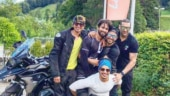 Shahid Kapoor goes on bike trip in Europe with Ishaan Khatter and Kunal Kemmu. See pic