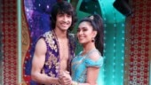 Nach Baliye 9: Shantanu Maheshwari kisses girlfriend Nityaami Shirke on the show. See pics