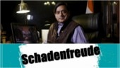 Shashi Tharoor says schadenfreude for Chidambaram, Internet is baffled. Do you know what it means?