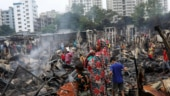 About 3,000 homeless as fire consumes Bangladesh slum