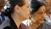 Feel her loss greatly: Sonia in letter to Swaraj's family