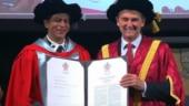 Shah Rukh Khan honoured with doctorate degree at La Trobe University for humanitarian work