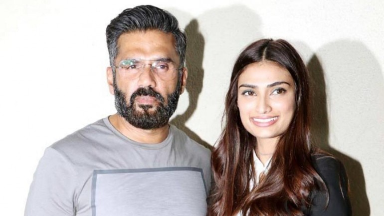 Athiya Shetty shares adorable childhood pic as Suniel Shetty turns ...