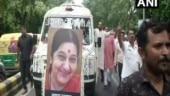 Sushma Swaraj's cremation: Traffic restrictions near Lodhi Road