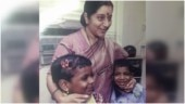 How a hug from Sushma Swaraj changed lives of 2 HIV Positive Kerala kids. Old pic goes viral