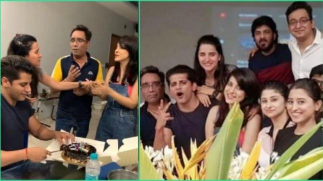 Karanvir Bohra reunites with Shararat co-stars and BB 12 housemates on birthday