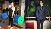 Tiger Shroff deadlifts 200kg at gym in new workout video. Superhuman, says Ishaan Khatter