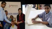 IIT Delhi alumnus wins national disability award for device that can 'show' pictures to the blind