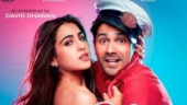 Sara Ali Khan goofs around with Varun Dhawan during Coolie No 1 rehearsals. Watch video