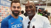 Virat Kohli turns anchor and interviews Viv Richards ahead of India v West Indies 1st Test