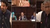 Verbal spat between Indian and Pakistani parliamentarians at Maldivian parliament