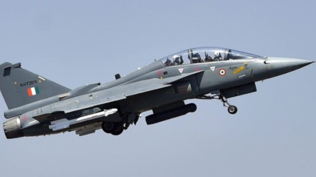 Watch: Naval LCA Tejas makes successful arrested landing at shore-based test facility in Goa