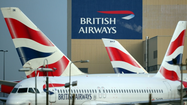 Image result for Nearly all British Airways flights canceled as pilots go on strike Over Pay