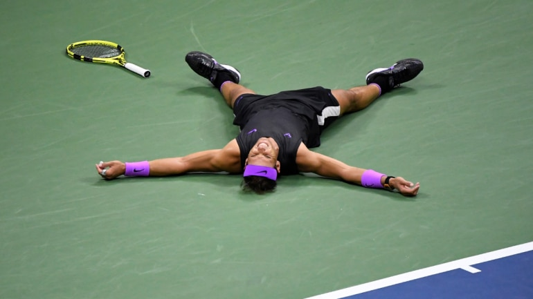 Nadal claimed his fourth U.S. Open crown. (Reuters Photo)