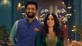 Vicky Kaushal and Janhvi Kapoor flirt and go high on josh in new Diwali ad. Trending now