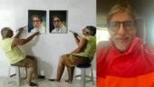 Famous painter creates magic with 3D painting of Amitabh Bachchan. Has Shahenshah seen it yet?
