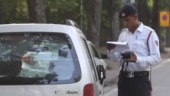 Follow these simple steps to check your E-challan status and to pay your E-challan ( Photo by Qamar Sibtain India Today Group/ India Content)