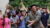 Sushant Singh Rajput gets mobbed by students as he visits his college in Delhi. Watch video
