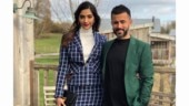 Anand Ahuja shares adorable post as he misses Sonam Kapoor. She says, I'm seeing you in a day