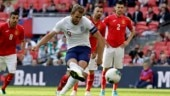 Harry Kane nets hat-trick as England romp past Bulgaria