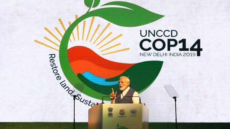PM Modi stresses on India's role in promoting South-South Cooperation at COP14