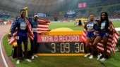 USA's Allyson Felix surpasses Usain Bolt's world record tally of gold medals at World Championships