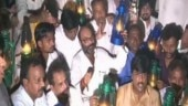UP power tariff hike: Congress workers stage lantern protest