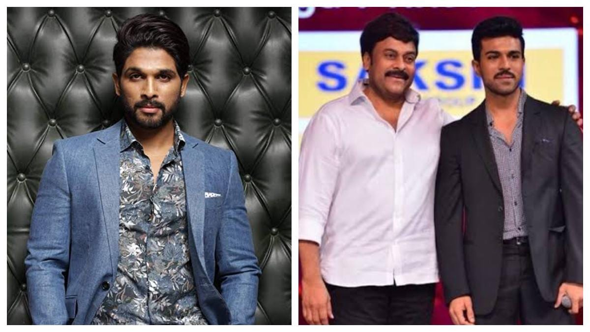 Allu Arjun Lauds Ram Charan Sye Raa Is The Best Gift He Could Give To His Dad Chiranjeevi