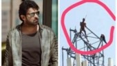 Prabhas fan climbs mobile-phone tower to demand meeting with Saaho star