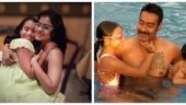 Ajay Devgn and Kajol wish Nysa Happy Daughter's Day with emotional posts. See pics