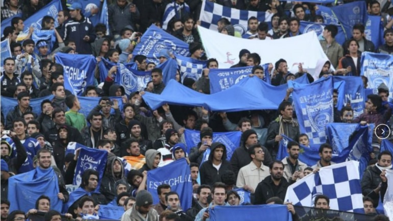 Iranian woman sets self on fire over possible jail sentence for sneaking into football stadium