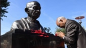President Ram Nath Kovind unveils Mahatma Gandhi's bust, shares Bapu's oneness of humanity
