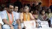Attack on Arjun Singh: BJP activists block road, disrupt rail service