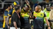 Andre Russell suffers brutal blow on helmet in CPL