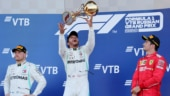 Russian GP: Lewis Hamilton leads Mercedes one-two finish to end Ferrari's 3-race winning run