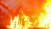Man sets SUV ablaze, fires shots in the air in Mathura city