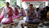 Bihar: Russian women offered pind daan puja in Gaya