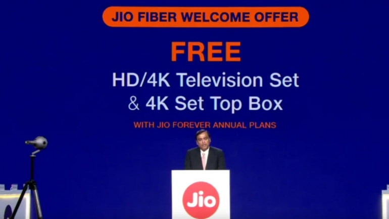 Reliance Jio Fiber plans, prices to be revealed: DTH service
