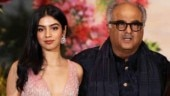 Khushi Kapoor chills with dad Boney Kapoor in New York. See pic