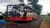 KSRTC buses targeted by protesters after DK Shivakumar's arrest by ED