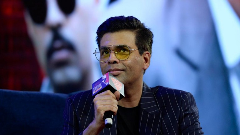 Karan Johar at India Today Conclave Mumbai 2019
