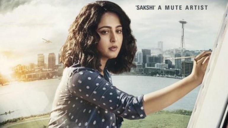 Anushka Shetty as Sakshi in Nishabdam